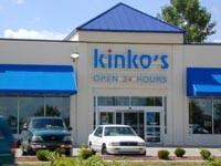 Outside Kinko's