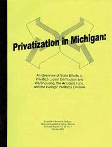 Privatization in Michigan