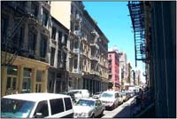 New York's SoHo neighborhood