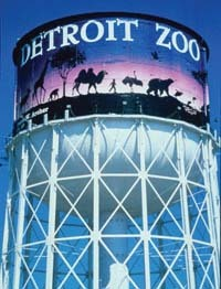 Zoo water tower