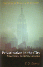 Privatization in the City book cover