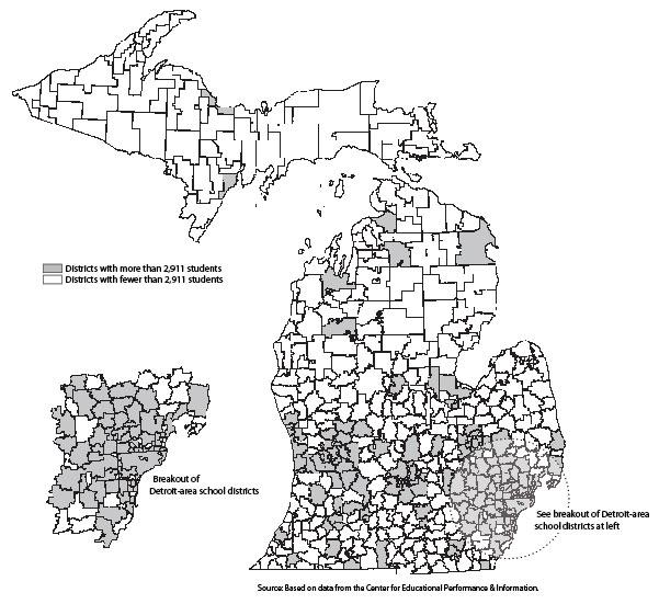 Appendix C: Michigan School District Head Counts [Mackinac Center]