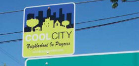 Cool City sign