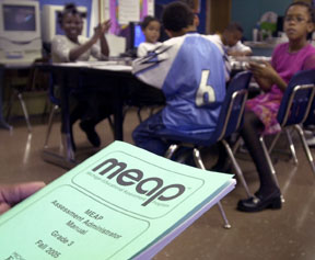 "Images from ""Michigan adopts NCLB 'growth model'"""