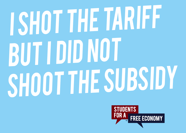I Shot the Tariff