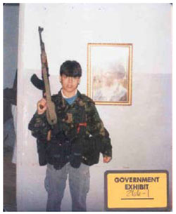 Graphic 14: Mohamad Hammoud as a Young Man in Lebanon - click to enlarge