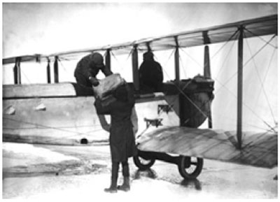 Graphic 25: A Biplane Smuggling Alcohol on the Ice - click to enlarge