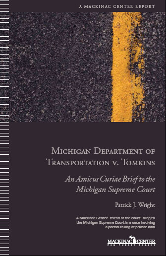 "Images from ""Mackinac Center Amicus Curiae Brief in Michigan Department of Transportation v. Tomkins"""
