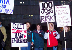 Hart Enterprises employees demonstrating