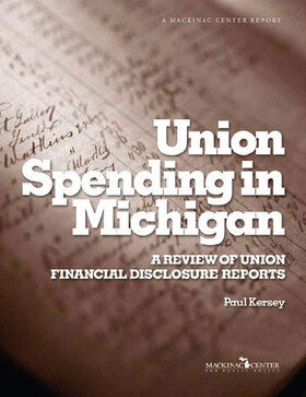Union Spending in Michigan