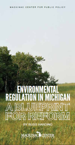 Environmental Regulation in Michigan: A Blueprint for Reform