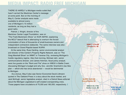 Media Impact: Radio Free Michigan - click to enlarge