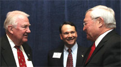 Former U.S. Attorney General Ed Meese, Joseph G. Lehman and L. Brooks