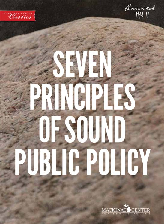 "Images from ""Seven Principles of Sound Public Policy"""