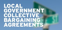 Local Government Collective Bargaining Agreements