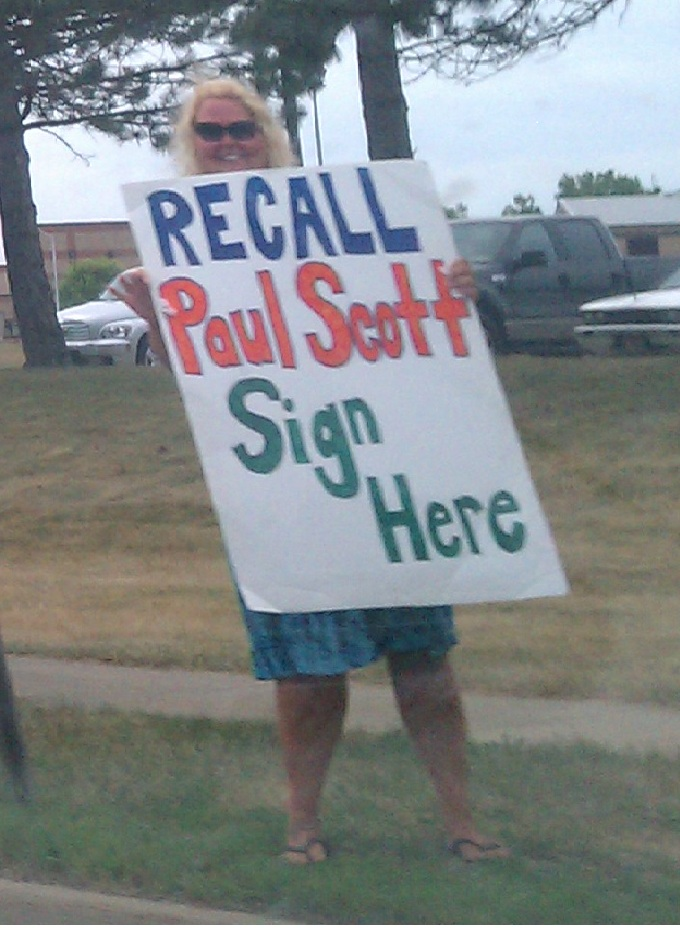 "Images from ""Scott Recall Election: On or Off?"""