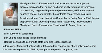 Reconsidering Michigan's Public Employment Relations Act - click to enlarge
