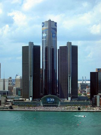 The Renaissance Center, Detroit