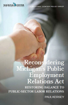Reconsidering Michigan's Public Employment Relations Act