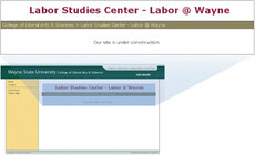 Wayne State University Labor Studies Center screenshot