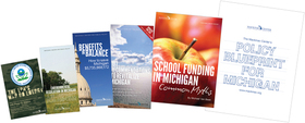 """Policy Blueprint for Michigan"" packet"