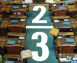 Tax Limitation Amendment, two-thirds majority