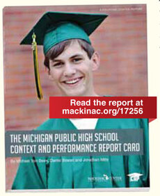 The Michigan Public High School Context and Performance Report Card