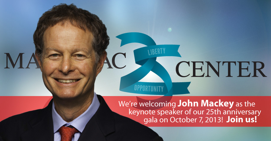 John Mackey to speak at our 25th gala