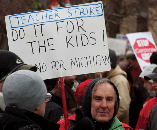 Teacher strike