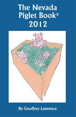 The Nevada Piglet Book 2012