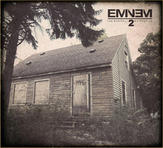 "The cover of ""The Marshall Mathers LP2"""