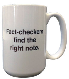 Fact-checker mug