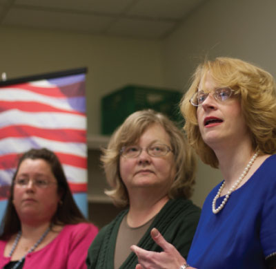 "Images from ""Taylor Teachers Fight Union Subversion of Right-to-Work Law 