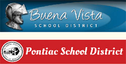 Buena Vista School District, Pontiac School District