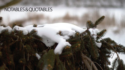 Notables & Quotables - click to enlarge