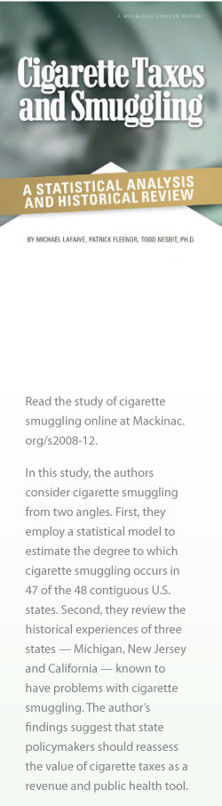 Cigarette Taxes and Smuggling cover