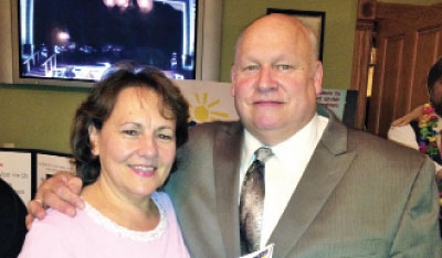 Mr. and Mrs. Ron Beebe - click to enlarge