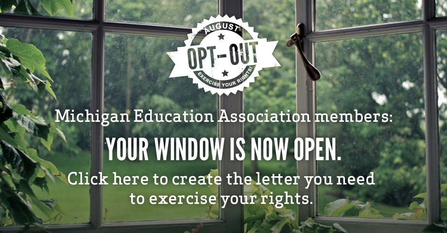 August Opt-Out