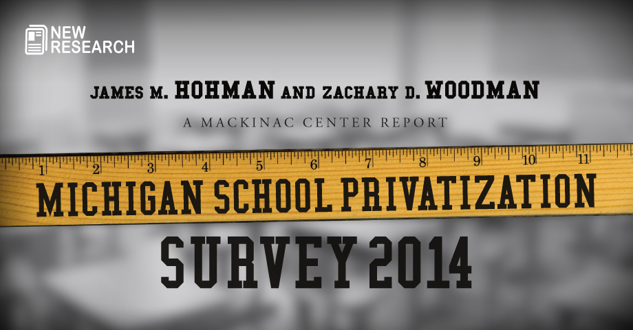 Michigan School Privatization Survey 2014