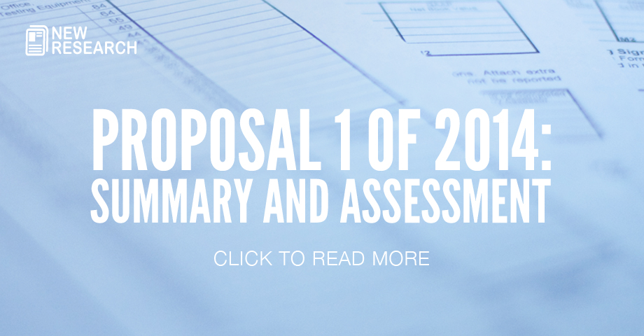 Proposal 1 of 2014: