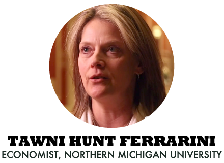 Tawni Hunt Ferrarini - Economist, Northern Michigan University