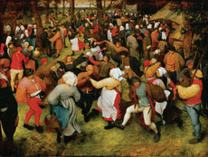 """The Wedding Dance,"" Bruegel"