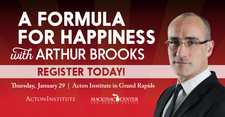 A Formula for Happiness with Arthur Brooks