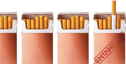 "Images from ""Cigarette Study Shows High Smuggling Rates"""