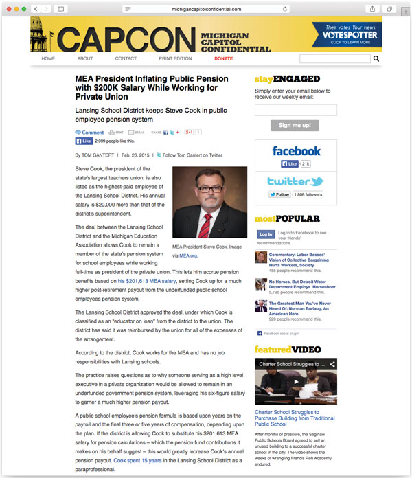 "Images from ""CapCon Investigates Steve Cook's Pension"""