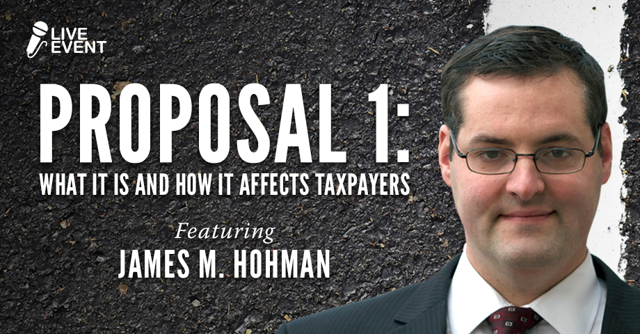 Proposal 1: What It Is and How It Affects Taxpayers