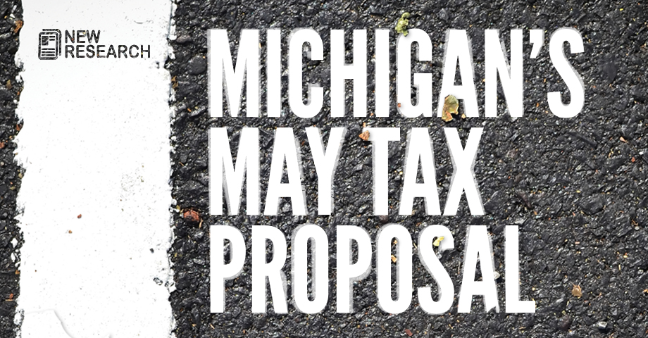 Michigan May Tax Proposal
