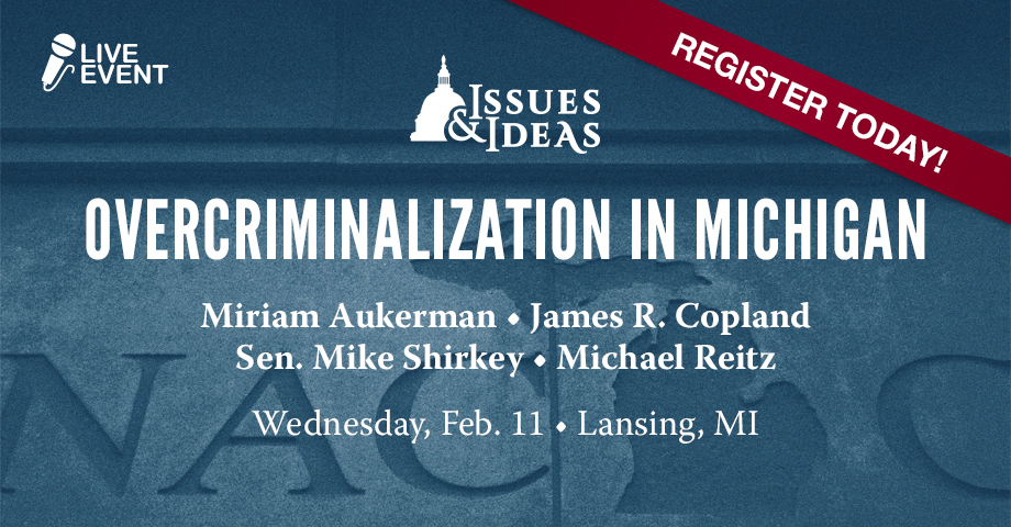 Overcriminalization in Michigan