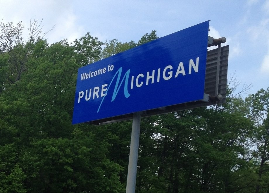 "Images from ""Pure Michigan Scare Tactics"""