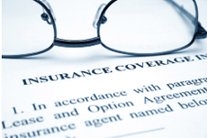 Insurance document graphic